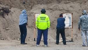 Hanson Police Firearms Training